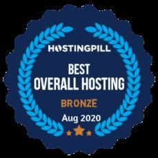 hostingpill overall hosting bronze badge
